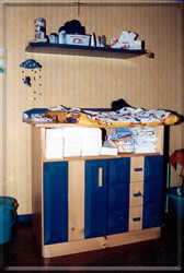Wickelkommode Kinderzimmer
